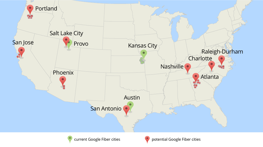 Google Fiber may expand to Salt Lake City Silicon Slopes